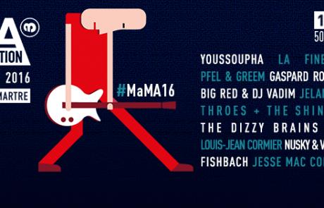 [JEU-CONCOURS] 2×2 Pass 3 jours pour le MaMa Festival
