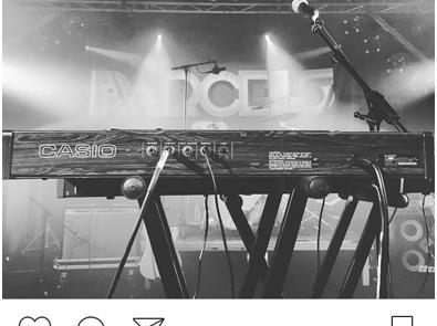 Live report Instagram: Parcels retournent le Point Ephémère