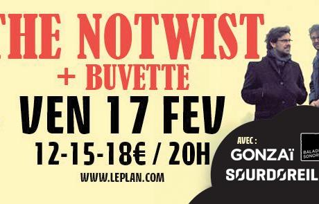 Jeu Concours : The Notwist et Buvette @ Plan le 17/02