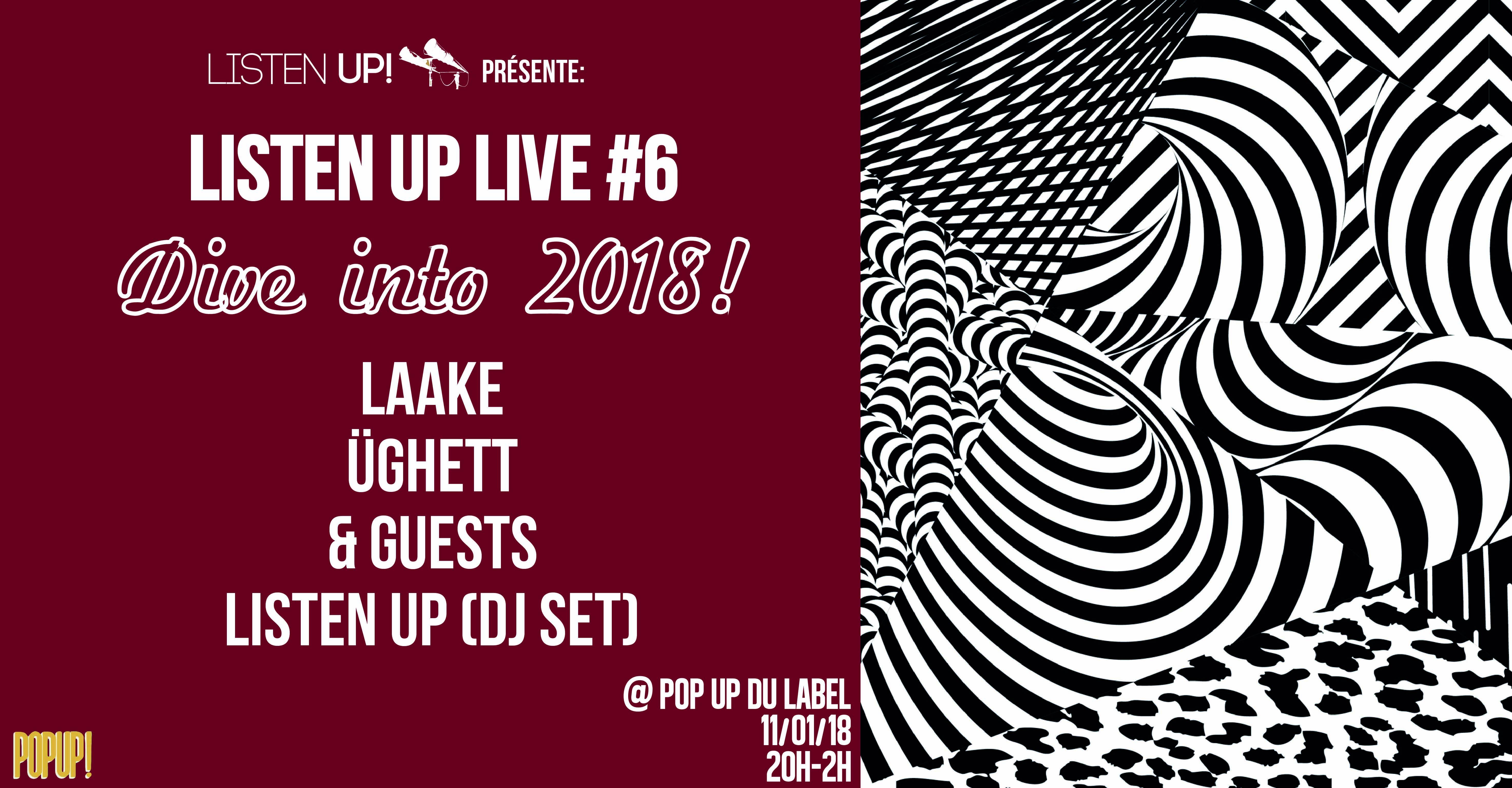 listen up Live #6