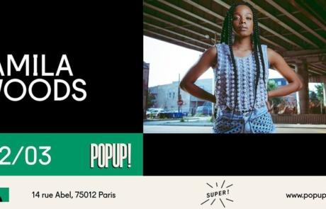 [JEU CONCOURS] Jamila Woods le 02.03 au Pop Up du Label