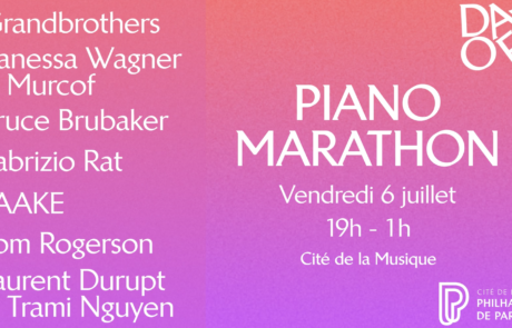 JEU-CONCOURS : Piano Marathon – festival Days Off