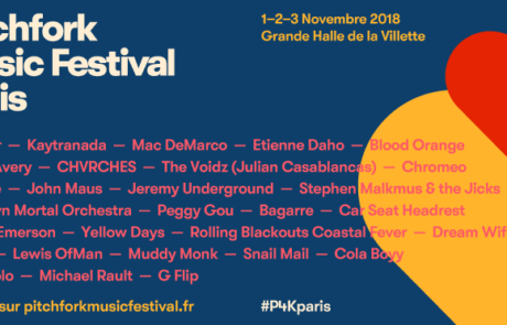 Pitchfork Music Festival Paris 2018 : notre sélection!