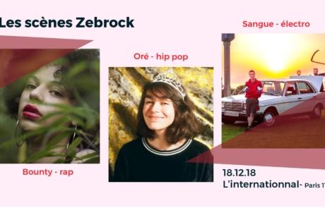 Rap, pop urbaine et électro se mêlent sur les scènes Zebrock
