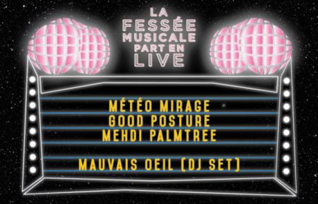 [JEU CONCOURS] La Fessée Musicale Part en Live #5 à l'International le 26 Février