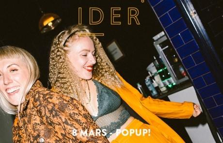[JEU CONCOURS] La nuit d'Ider au Pop Up du Label, 08/03.