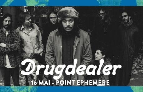 [JEU-CONCOURS] Expédition 70's avec Drugdealer au Point Ephémère