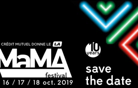 La programmation du MaMA Festival 2019 est enfin au complet!
