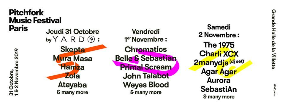 Pitchfork festival 2019