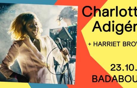 [CONCOURS] CHARLOTTE ADIGÉRY au Badaboum le 23/10