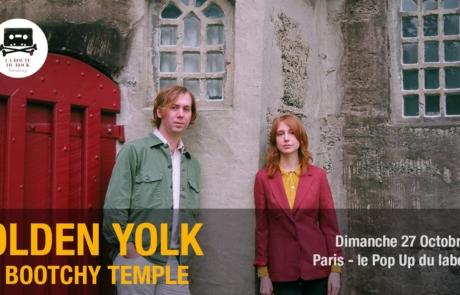 [JEU-CONCOURS] Olden Yolk au Pop Up du Label le 27 octobre
