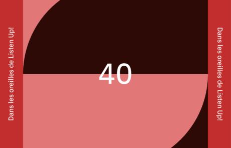 [PLAYLIST] Dans les oreilles de Listen Up #40