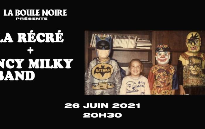 Ça va jazzer sec à la Boule Noire avec NCY Milky Band et la Récré !