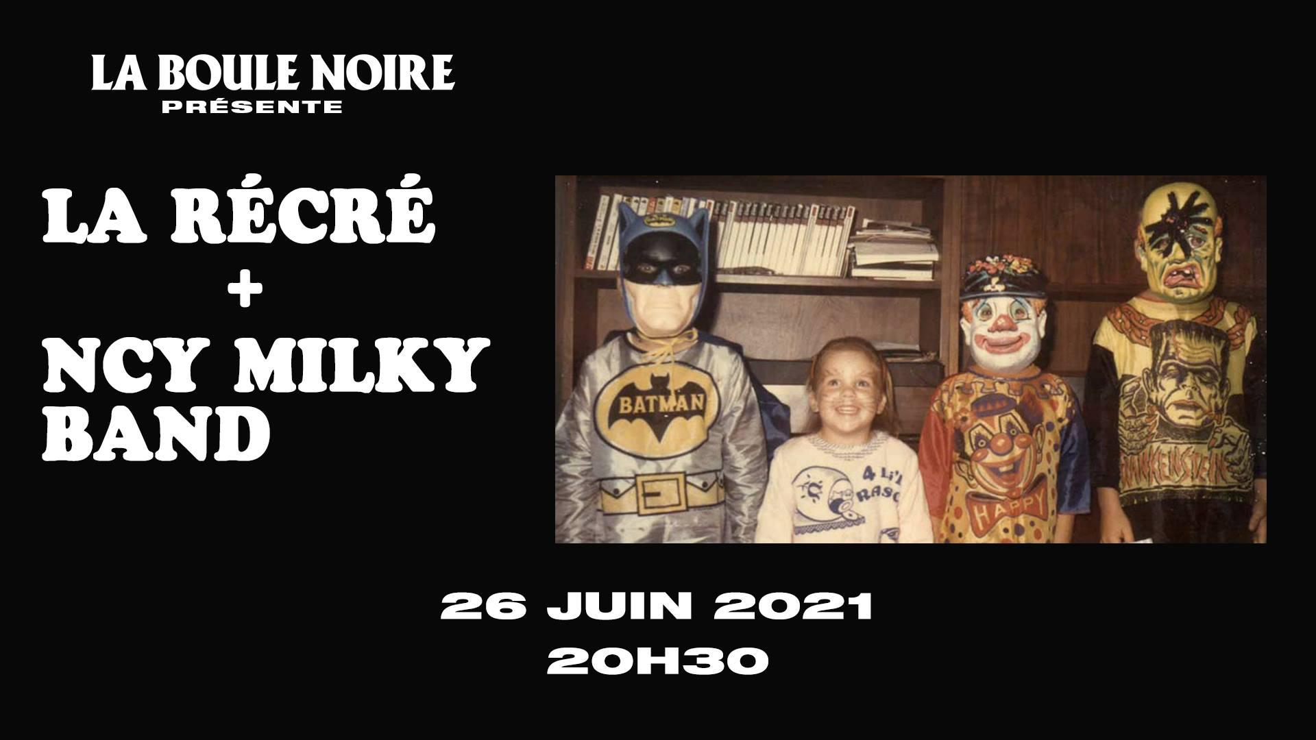 NCY milky band