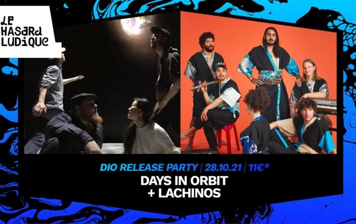 [CONCOURS] Days In Orbit & Lachinos au Hasard Ludique le 28/10!