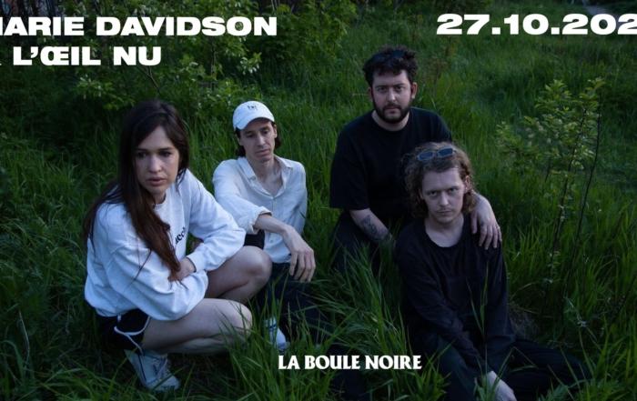 [CONCOURS] Marie Davidson & L'Œil Nu en concert à La Boule Noire – 27.10